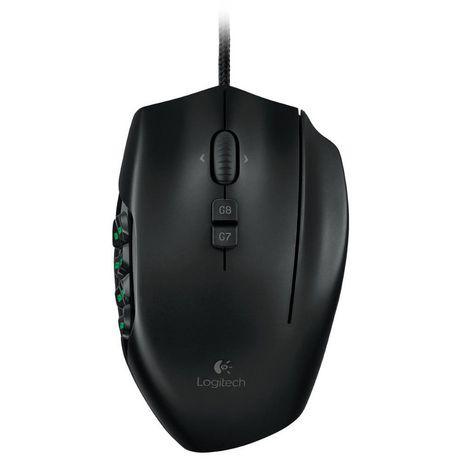 b5ed0ecfceb Logitech MMO Gaming Mouse G600 - image 1 of 3 ...