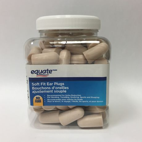 Equate Soft Fit Ear Plugs - image 1 of 2