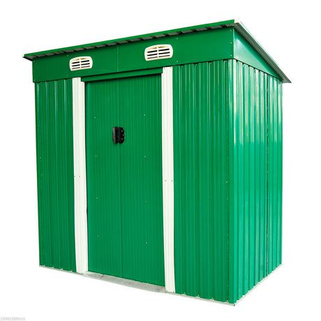 Outsunny Metal Patio Storage Shed - image 1 of 3 ...  sc 1 st  Walmart Canada & Outsunny Metal Patio Storage Shed | Walmart Canada
