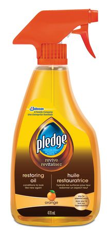 Pledge 174 Furniture Cleaner Amp Polish With Natural Orange Oil