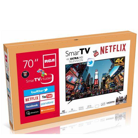 "RCA 70"" 4K Ultra HD Smart TV, RNSMU7040 - image 3 of 4"