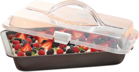 Tfal Signature Nonstick Cake Pan And Cover 13x9inch