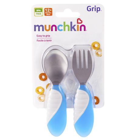 Munchkin Grip™ Fork & Spoon - image 3 of 6