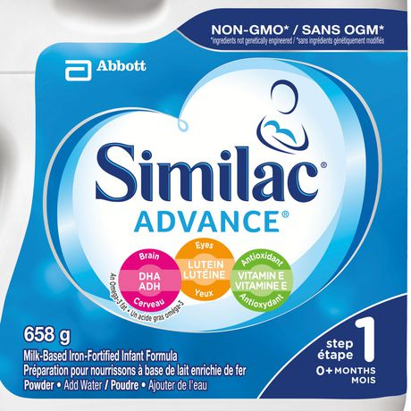 Similac Advance Step 1 Baby Formula Powder, 6 x 658 g, Value Pack - image 2 of 9