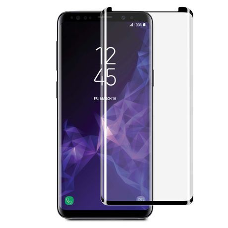 Blu Element 3D Curved Glass Case for Samsung Galaxy A8 (2018)