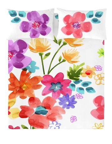Ensemble housse de couette Spring Blossom de Gouchee Design pour grand lit - image 1 de 2