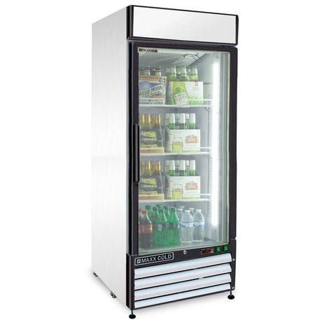 Réfrigérateur marchandiseur Maxx Cold de la série X de 16 pi³ - image 1 de 5