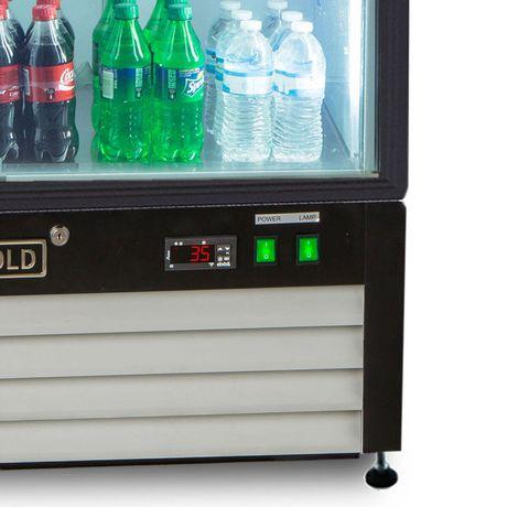 Réfrigérateur marchandiseur Maxx Cold de la série X de 16 pi³ - image 3 de 5