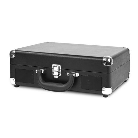 Innovative Technology Bluetooth Nostalgic Portable Vintage Suitcase Turntable - image 2 of 2