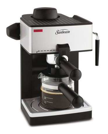 sunbeam 1 4 cups steam espresso maker bvsbecm160 033 walmart canada. Black Bedroom Furniture Sets. Home Design Ideas