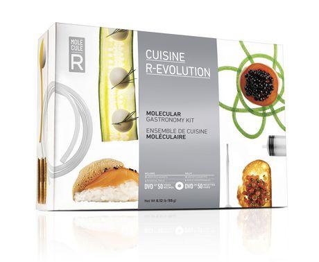 Cuisine R-Evolution Molecular Gastronomy Kit - image 1 of 3