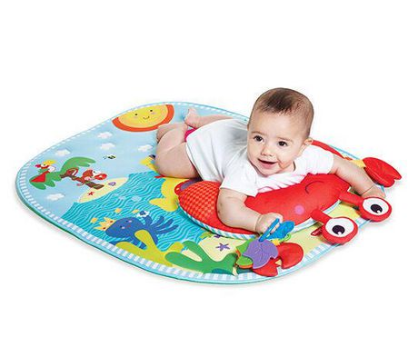 Tiny Love Tummy Time Fun Under The Sea Play Mat Walmart