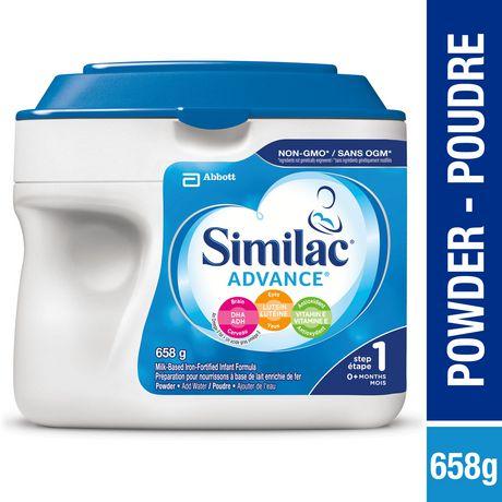 Similac Advance Step 1 Baby Formula Powder + DHA, Lutein & Vtmn E, 658 g - image 1 of 9