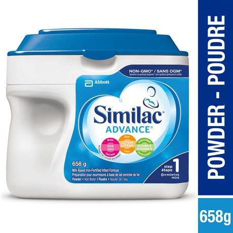 Similac Advance Step 1 Infant Formula Powder Walmart Canada