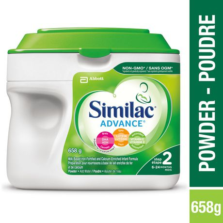Similac Advance Step 2 Baby Formula Powder + DHA, Lutein & Vtmn E - image 1 of 9