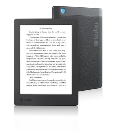 Kobo Aura H2 O Edition 2 6.8 In Hd Carta E Ink Touchscreen E Reader by Kobo