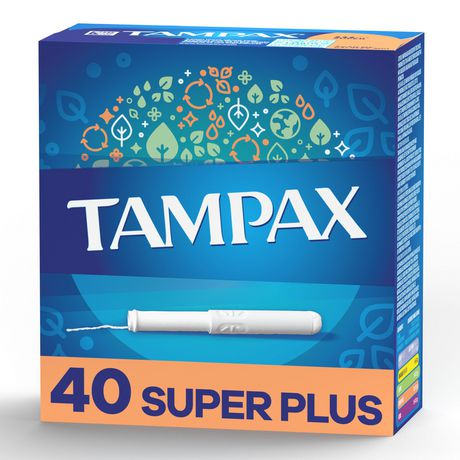 Tampax Super plus Absorbency Tampons - image 1 of 4