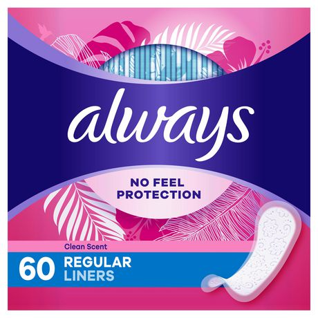 Always Thin Daily Liners, Wrapped, Regular - image 1 of 3