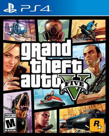 Jeu vidéo Grand Theft Auto V pour PS4 - image 1 de 8