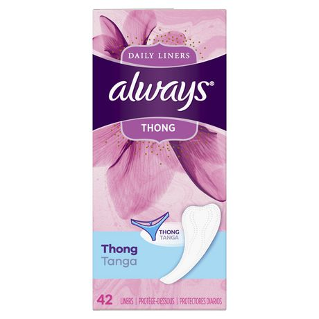 Always Thong Daily Liners,  Unscented, Regular - image 3 of 3