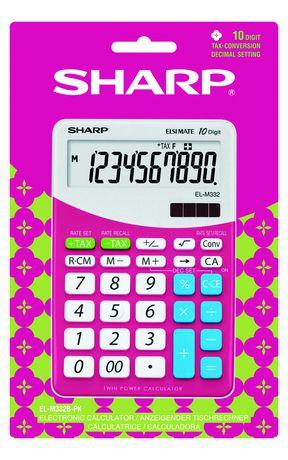 Calculatrice SHARP ELM332BPK - image 2 de 2