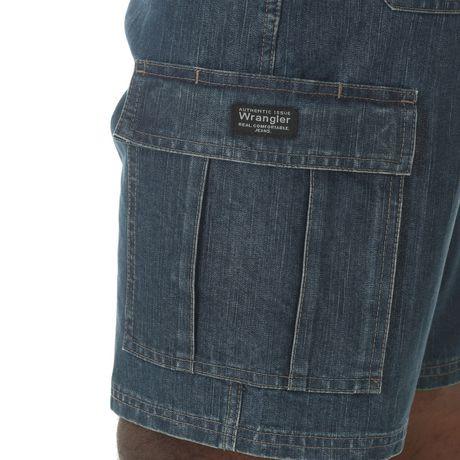Wrangler Men's Denim Cargo Shorts | Walmart.ca