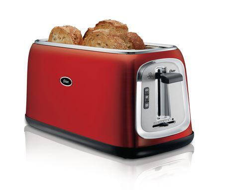 Oster 174 4 Slice Long Slot Toaster Walmart Canada