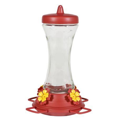 Perky-Pet Adjustable Perch Glass Hummingbird Feeder - image 1 of 9