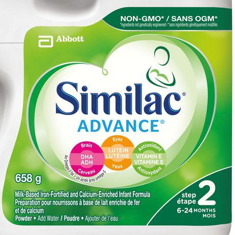 Similac Advance Step 2 Baby Formula Powder + DHA, Lutein & Vtmn E - image 2 of 9
