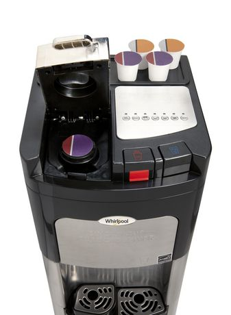 Whirlpool Commercial Single Serve Coffee Maker And Bottom Load Water Cooler, Compatible with K-Cup PODS. - image 5 of 6