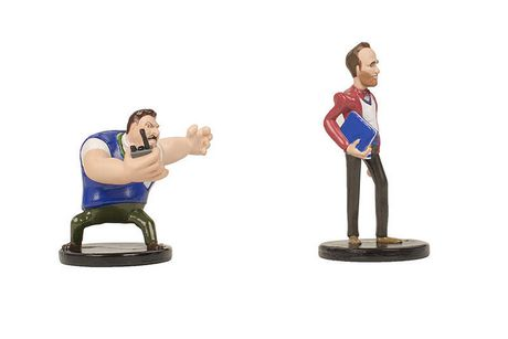 Vice Principals Gamby and Lee Vinyl Figurines - image 3 de 3