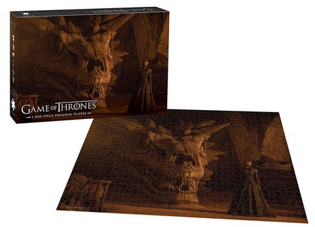 USAopoly Game of Thrones Premium PUZZLE: Balerion The Black Dread - image 2 of 2