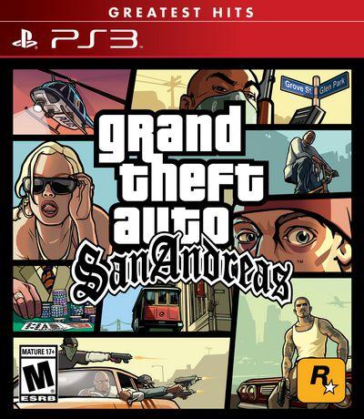 Jeu vidéo Grand Theft Auto: San Andreas pour PS3 - image 1 de 1