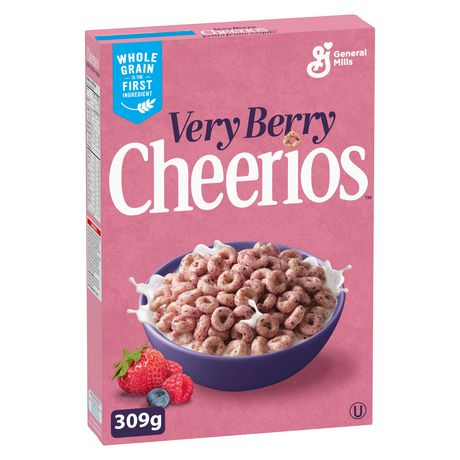 Cheerios™ Very Berry Naturally Flavoured Cereal Special Edition - image 1 of 8