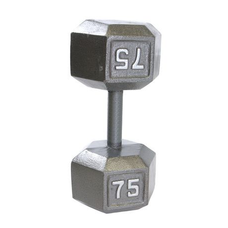 Cap Barbell Cast Iron Hex Dumbbell Walmart Canada