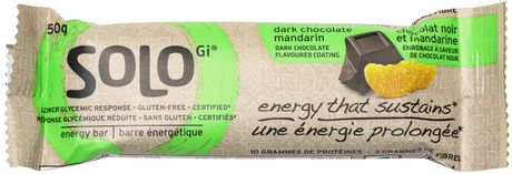Solo Dark Chocolate Mandarin Energy Bars - image 1 of 5