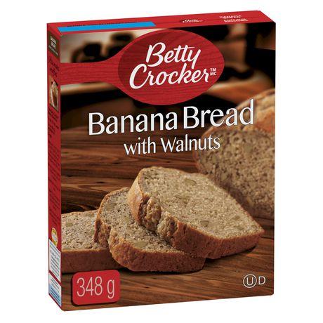 Betty Crocker™ Banana Bread with Walnut Baking Mix