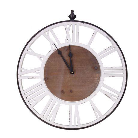 Hometrends Wall Art Wood Clock - image 2 of 2