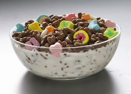 Lucky Charms Chocolate Cereal - image 2 of 5