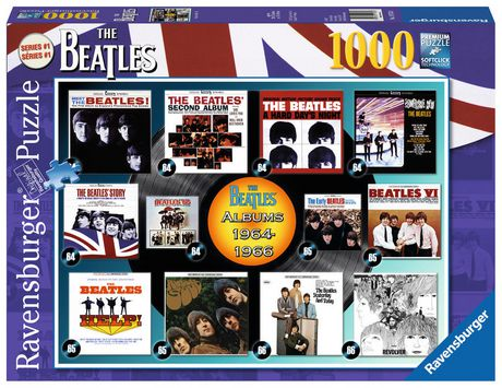 Ravensburger Beatles Albums 1964 1966 Puzzle 1000 Pc Walmart