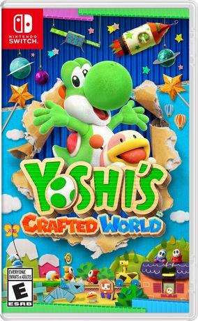 Yoshi's Crafted World (Nintendo Switch) - image 1 de 8