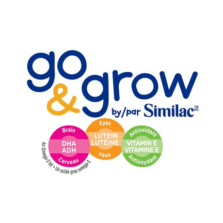 Go & Grow by Similac Step 3 Toddler Nutritional Drink, Milk Flavour, Powder, Value Pack - image 3 of 8