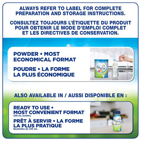 Go & Grow by Similac Step 3 Toddler Nutritional Drink, Milk Flavour, Powder, Value Pack - image 8 of 8