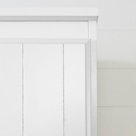 South Shore Farnel Wardrobe Armoire-Pure White - image 6 of 9