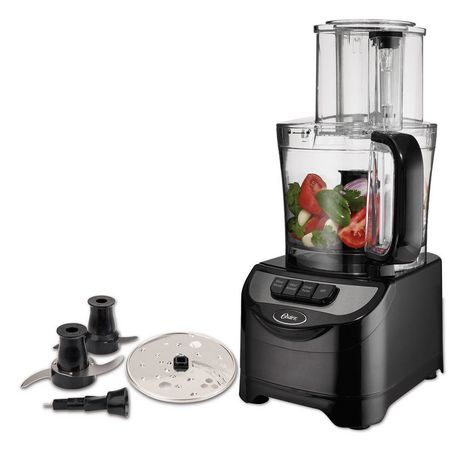 Oster 10 Cup Food Processor, Black - image 1 of 7