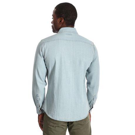 Wrangler Men's Premium Long Sleeve Snap Shirt - image 3 of 3