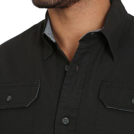 Wrangler Men's Short Sleeve Stretch Shirt - image 3 of 4