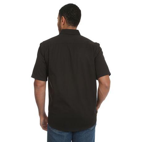 Wrangler Men's Short Sleeve Stretch Shirt - image 4 of 4
