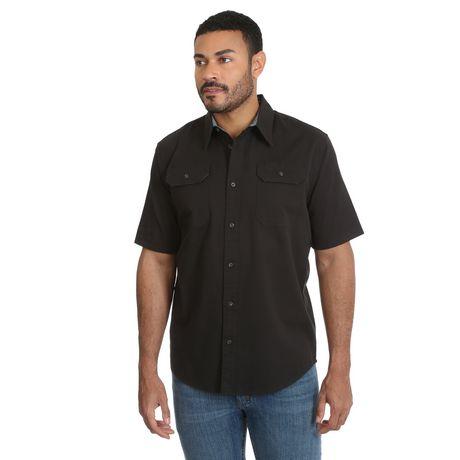 Wrangler Men's Short Sleeve Stretch Shirt - image 1 of 4