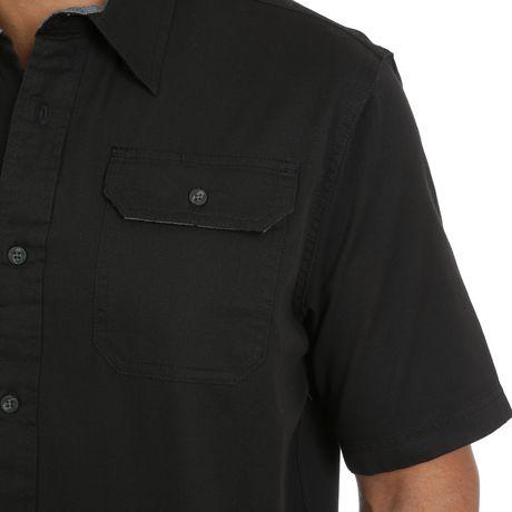 Wrangler Men's Short Sleeve Stretch Shirt - image 2 of 4